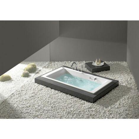 Roca - Bañera acrílica rectangular 1600x700 - Serie Vythos