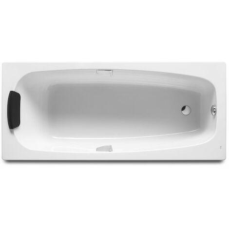 8414329782738 Roca - Bañera acrílica rectangular con asas 1600x750 - Serie Sureste N , Color Blanco