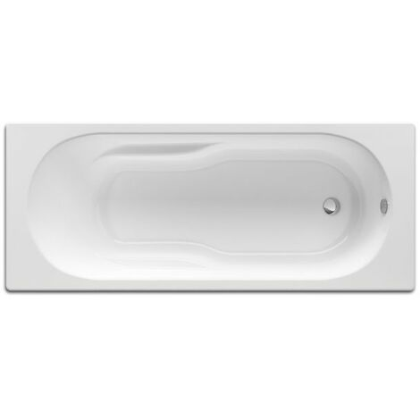ROCA Bañera acrilica rectangular Genova-N 1700X750 - Color Blanco