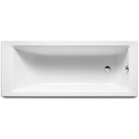 ROCA Bañera acrílica Vythos 170 cm x 70 cm Blanco