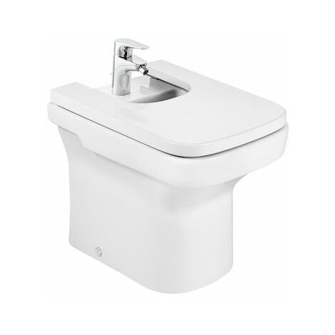 Bidé de porcelana compacto - Serie Dama , Color Blanco - Roca