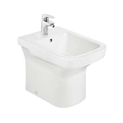 ROCA Bidé de porcelana compacto - Serie Dama , Color Blanco