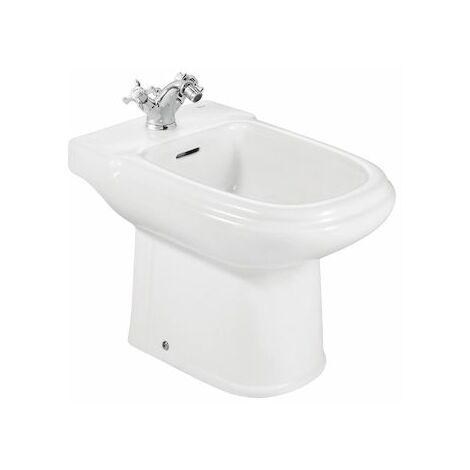 ROCA Bidé de porcelana - Serie Dama Retro , Color Blanco