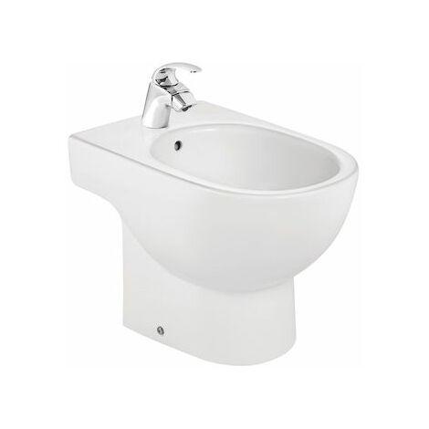 ROCA Bidé de porcelana - Serie Meridian , Color Blanco