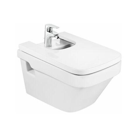 8414329916461 Roca - Bidé de porcelana suspendido - Serie Dama , Color Blanco