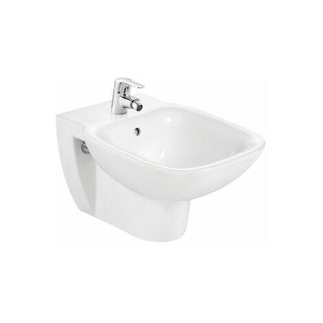 ROCA Bidé de porcelana suspendido - Serie Debba , Color Blanco