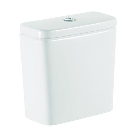 Roca - Cisterna de doble descarga 45/3L con alimentación inferior para inodoro - Serie Debba