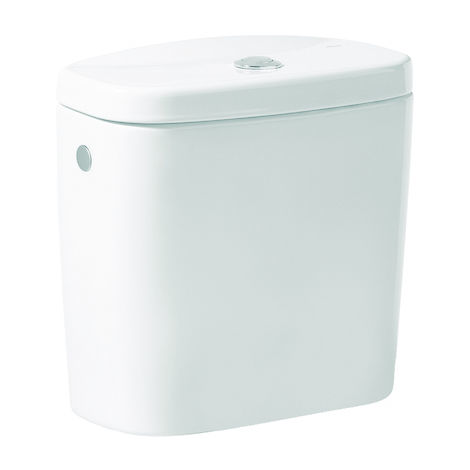 ROCA Cisterna de doble descarga 6/3L para inodoro - Serie Victoria, Color Pergamon
