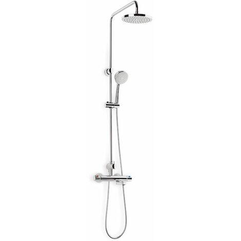 ROCA Columna termostática baño-ducha con caño retráctil - Serie Victoria-T