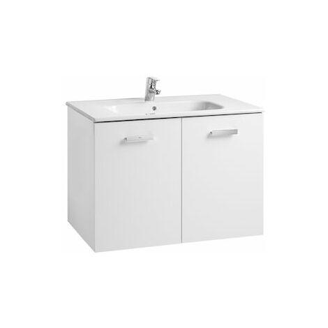ROCA Conjunto mueble y puertas lavabo. Serie Victoria Basic, 80 cm