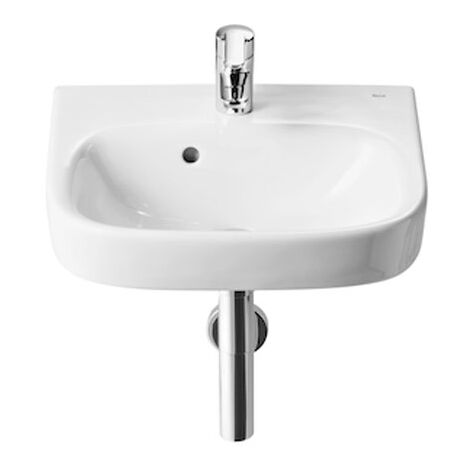 Roca Debba Wall Hung Basin 350mm Wide - 1 Tap Hole