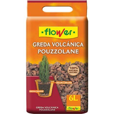 "main image of ""Roca Decorativa Greda Volcanica Flower"""