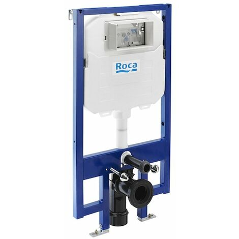 Roca Duplo Wall Hung Toilet Fixing Frame with Dual Flush Compact Cistern