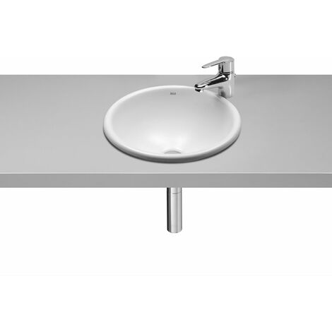 Roca Foro In Countertop Basin 400mm Wide - 0 Tap Hole