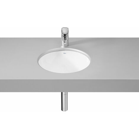 Roca Foro In Countertop Basin 410mm Wide - 0 Tap Hole