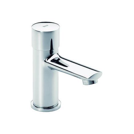 ROCA Grifo temporizado de lavabo de repisa pulsador - Serie Sprint