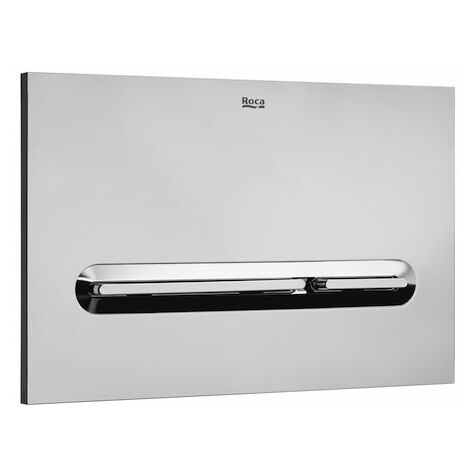 Roca In-Wall PL5 DUAL - Dual Flush Operating Plate Grey Laquer