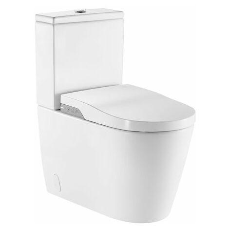 ROCA Inodoro In Wash Inspira Rimless - Incluye cisterna, tapa y asiento.