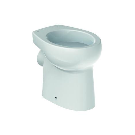 ROCA Inodoro infantil de porcelana con salida a pared y fondo plano - Serie Baby , Color Blanco