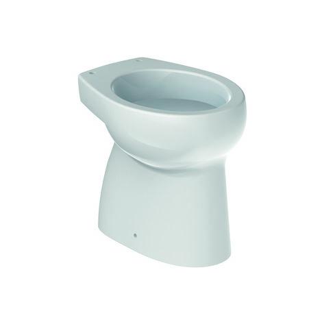 ROCA Inodoro infantil de porcelana con salida a suelo y fondo plano - Serie Baby , Color Blanco