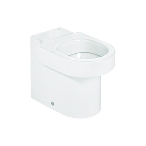 ROCA Inodoro infantil de porcelana con salida dual - Serie Happening , Color Blanco