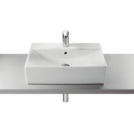 ROCA Lavabo de porcelana de sobre encimera 600 E Serie Diverta - C-A Blanco