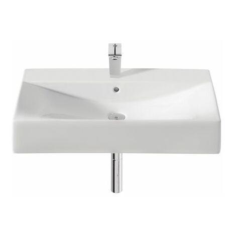 ROCA Lavabo de porcelana suspendido o de sobre encimera - Serie Diverta , Color Blanco