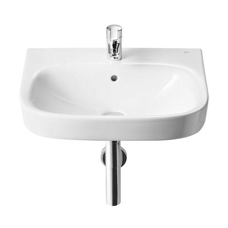 ROCA Lavabo de porcelana suspendido - Serie Debba , Color Blanco