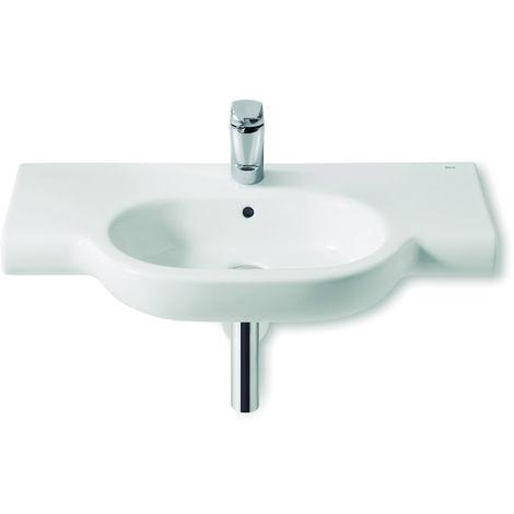 ROCA Lavabo de porcelana suspendido - Serie Meridian , Color Blanco
