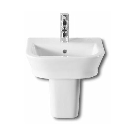 ROCA Lavabo de porcelana suspendido - Serie The Gap , Color Blanco