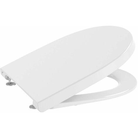 Roca Meridian-N Tapa y asiento de Supralit 600 para inodoro - Color Blanco