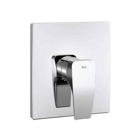 Roca - Mezclador empotrable para baño o ducha, cromado - Serie Thesis - A5A2B50C00