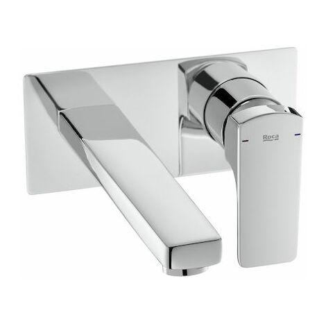 Roca-Mezclador monomando L90 empotrable para lavabo
