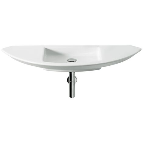 Roca Mohave Wall Hung Basin 1100mm Wide - 0 Tap Hole