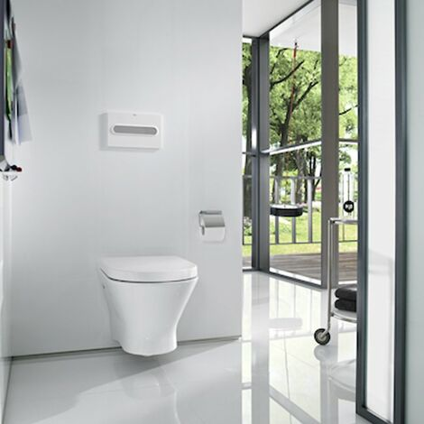 Roca Nexo Wall Hung Toilet WC 535mm Projection - Standard Seat