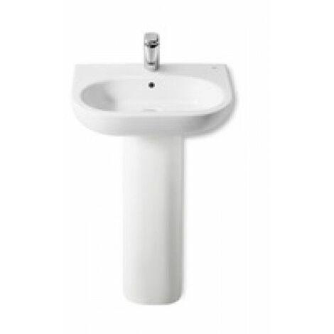 Roca - Pedestal para lavabo de porcelana - Serie Meridian