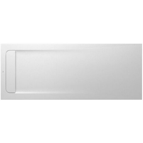 ROCA Plato ducha 160X80 blanco (no incluye rejilla ni tapa) - Aquos