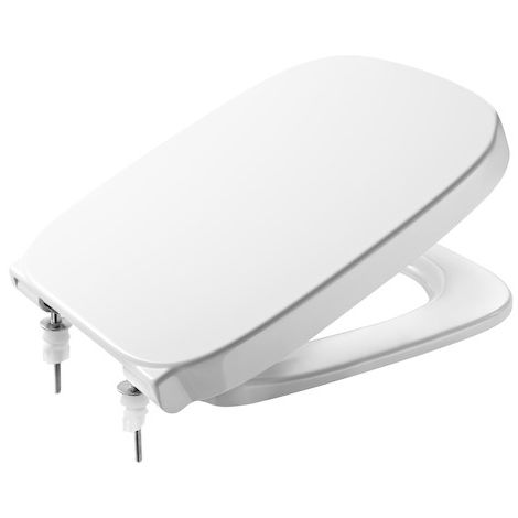 ROCA Tapa y aro para inodoro - Serie Debba , Color Blanco