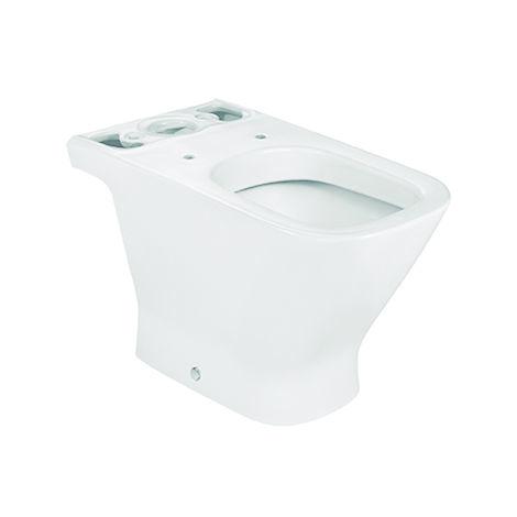 Roca - Taza para inodoro de porcelana con salida a pared - Serie The Gap