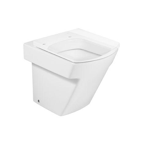 Roca - Taza para inodoro de porcelana con salida dual - Serie Hall