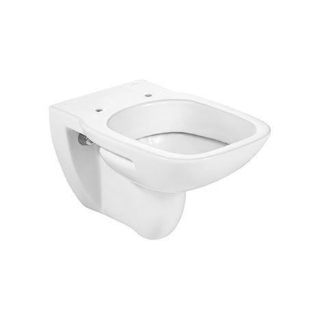 Roca - Taza para inodoro de porcelana suspendido con salida a pared - Serie Debba