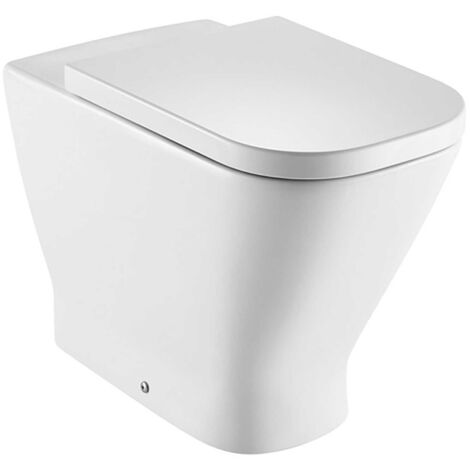 Roca The Gap Rimless Back To Wall WC Toilet 540mm Projection - Soft Close Seat