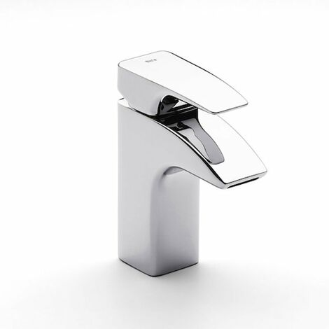 Roca THESIS Basin Mixer Tap, Pop Up Waste, 1 Tap Hole, Chrome