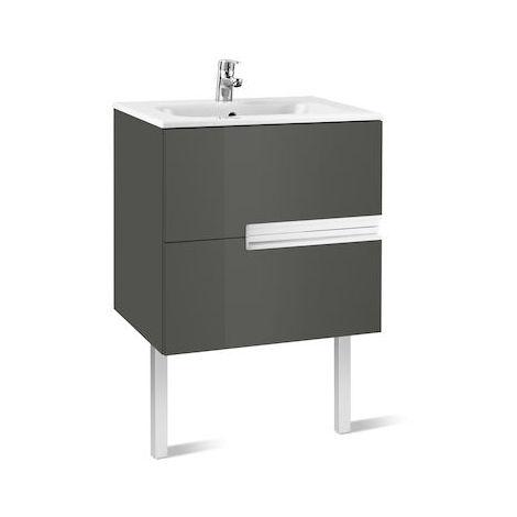 Roca - Unik (mueble base y lavabo) - 70 cm, Serie Victoria-N