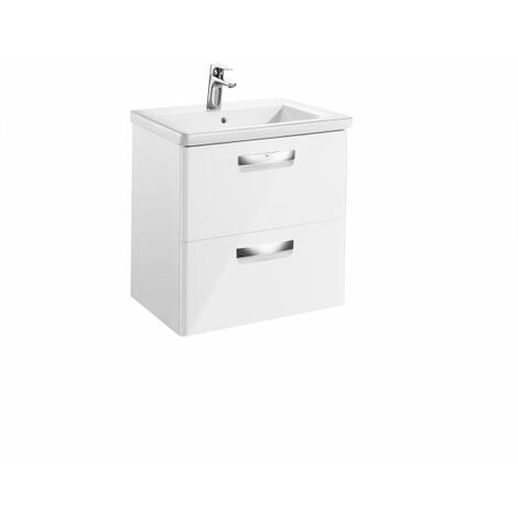 Roca - Unik (mueble base y lavabo) - Serie The Gap