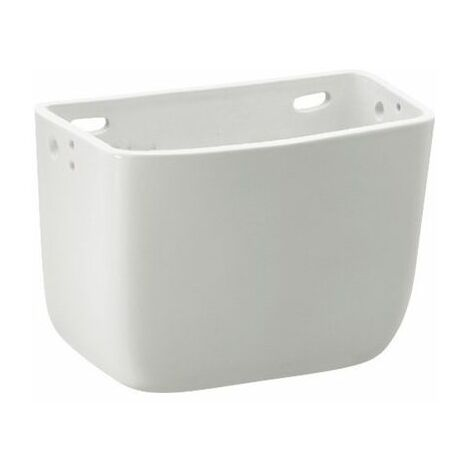 "main image of ""Roca Universal Cassetta Alta In Ceramica Lt.9 Bianco"""