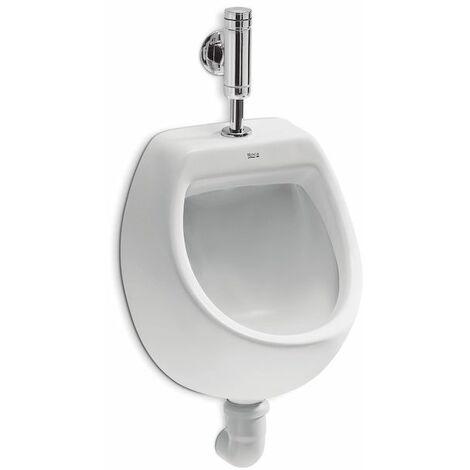 ROCA Urinario con entrada de agua superior - Serie Mini , Blanco. No incluye grifería.