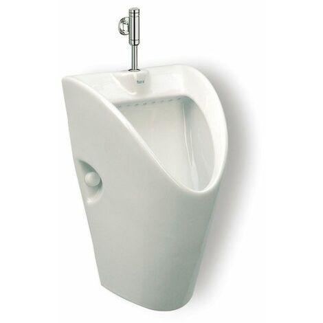 ROCA Urinario de porcelana con entrada de agua superior - Serie Chic , Blanco