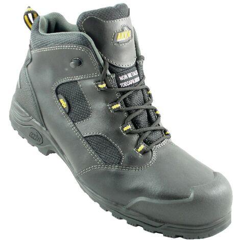 Rockford Men's Black Non-Metallic Safety Boots