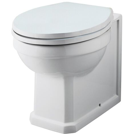 Rockingham Back To Wall WC Pan & Deluxe Soft Close Seat